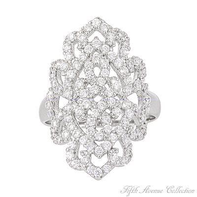 Rhodium Ring - Fashion Queen - Canada - Fifth Avenue Collection - Jewellery that changes the way you see fashion <3 <3 <3 <3