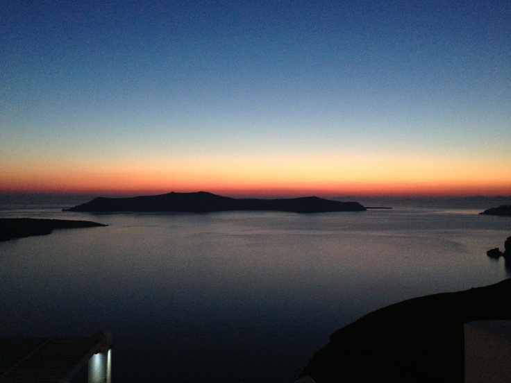 a moment to have a shot of the sunset... @Sunrise Greece