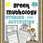 Common Core aligned Greek Mythology unit.
