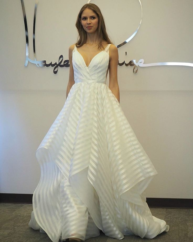 The decklyn gown by hayley paige fall 2016 collection for Wedding dress trunk shows