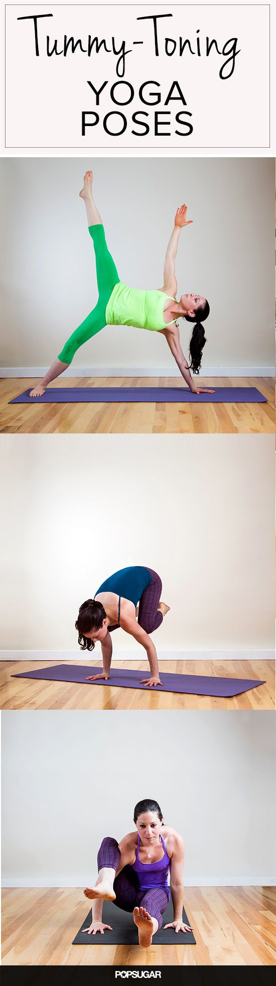 Core-Carving Yoga Poses