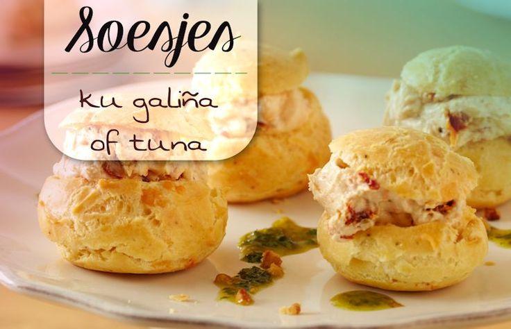 Antilliaanse SOESJES recept - met kip of tonijn vulling