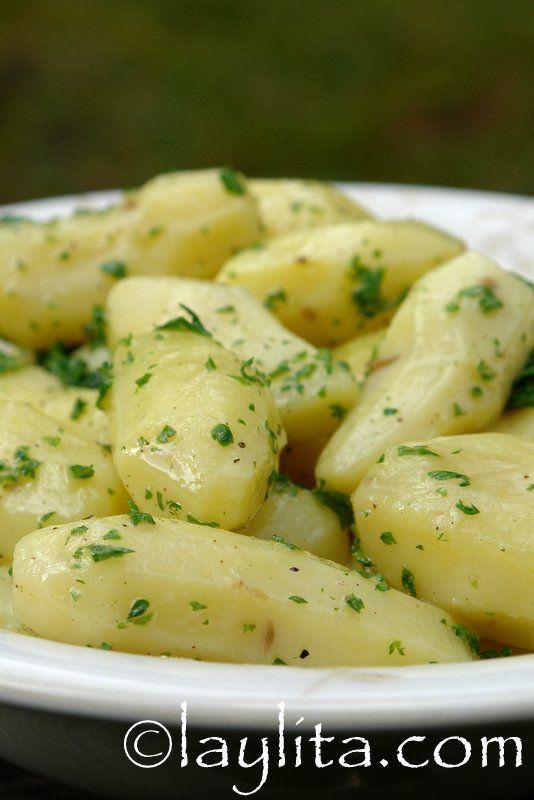 Comment cuisiner les petites pommes de terre saut es au - Comment cuisiner les gnocchi ...