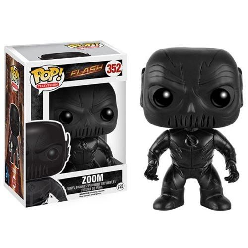 """In-Stock """"The days of The Flash protecting the city are over."""" Enter Zoom. From season 2 of the CW's The Flash, the super fast villain from Earth 2 joins the ra"""