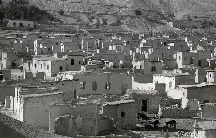 Abandoned refugee camp outside of Jericho