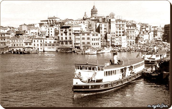 Haliç vapuru - 1950'ler
