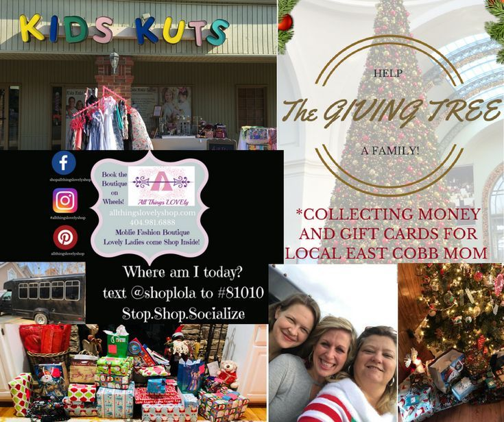 All Things Lovely Shop and Kids Kuts Salon giving back to the local community in Marietta, Ga. #goals #christmasgifts #fashion #haircuts #donate #thankful