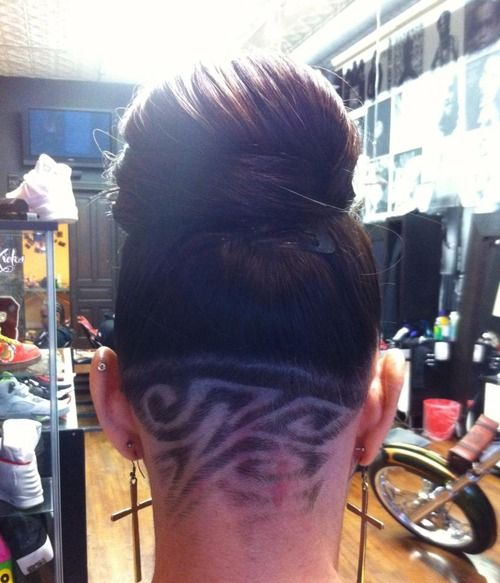 Hairstyles With The Back Shaved 15