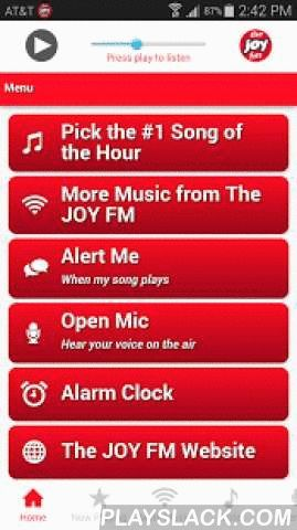 The JOY FM Florida  Android App - playslack.com ,  The JOY FM - Helping you find JOY wherever you go! Download the app now and hear Positive uplifting music from your favorite Christian music artists. Get e-mail, text or Twitter alerts when your favorite songs are about to play and join the fun with Open Mic. Find more JOY with our Praise, Classic and Lightforce music channels, too. Wake up to The JOY FM with our Alarm Clock feature and check weather and traffic any time of day. Thanks for…