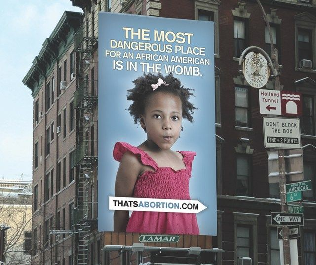 Anti-Abortion Billboard In SoHo Targets Blacks, Sparks Outrage