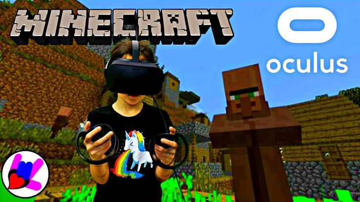 VR Video Game Minecraft VR WIN 10 with NEW OCULUS Rift & Oculus Touch  8...