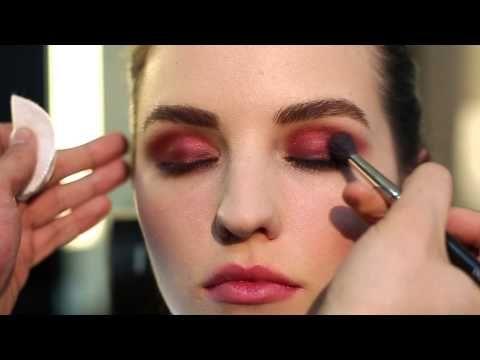 Весенний макияж от визажиста INGLOT Тима Лео. Марсала - YouTube