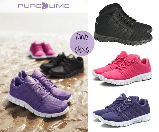 Get moving with Pure Lime MOVE & MOVE MIDCUT shoes.... What you wear on your feet can make you faster and stronger. Why not look for the most comfortable shoe that protects your feet and inspires you to do more?