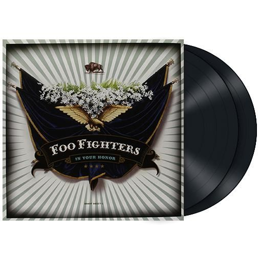 "L'album dei #FooFighters intitolato ""In Your Honor"" su doppio vinile."
