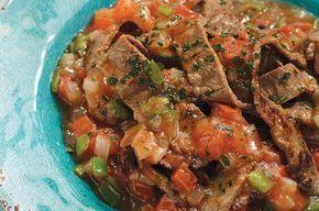Cómo preparar bisteces de res a la mexicana. Anímate a hacer esta, rendidora, fácil y clásica receta, ideal para la hora de la comida.