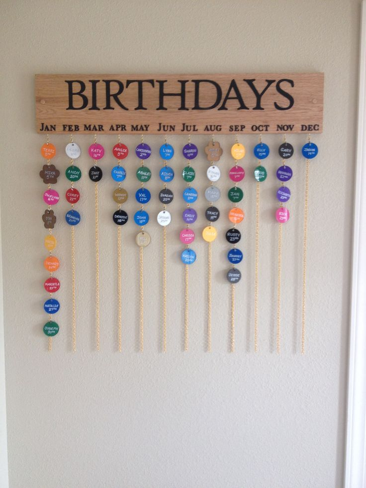 Calendar Kit Ideas : Best birthday calendar craft ideas on pinterest