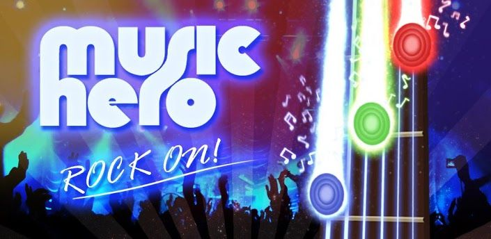 Al mejor estilo de Guitar Hero, Music Hero es uno de los juegos con mas  ritmo para Android.    Prepárate para sentir el ritmo en tu dispositivo    Juega utilizando tus propios archivos musicales o los que vienen por defecto en el juego. Utiliza tu pantalla touch para seguir los caminos musicales, viene con 3 niveles de dificultad.descarga music hero para Android