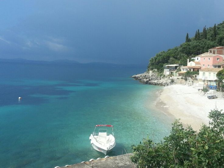 Kaminaki Beach Corfu Greece