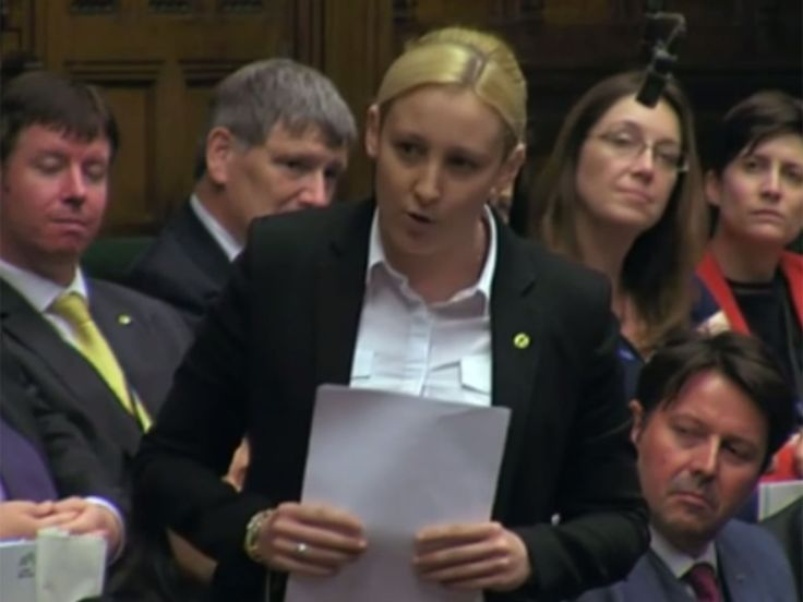 Mhairi Black says Tory MPs stopped looking at her after she delivered maiden speech in House of Commons | UK Politics | News | The Independent