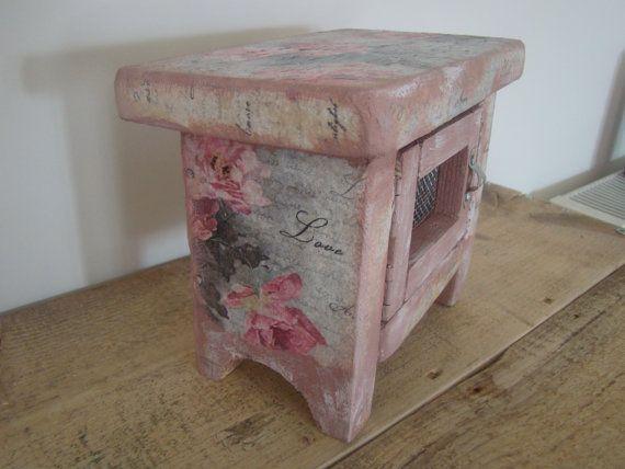 handmade wood box by demetradaskloupo on Etsy