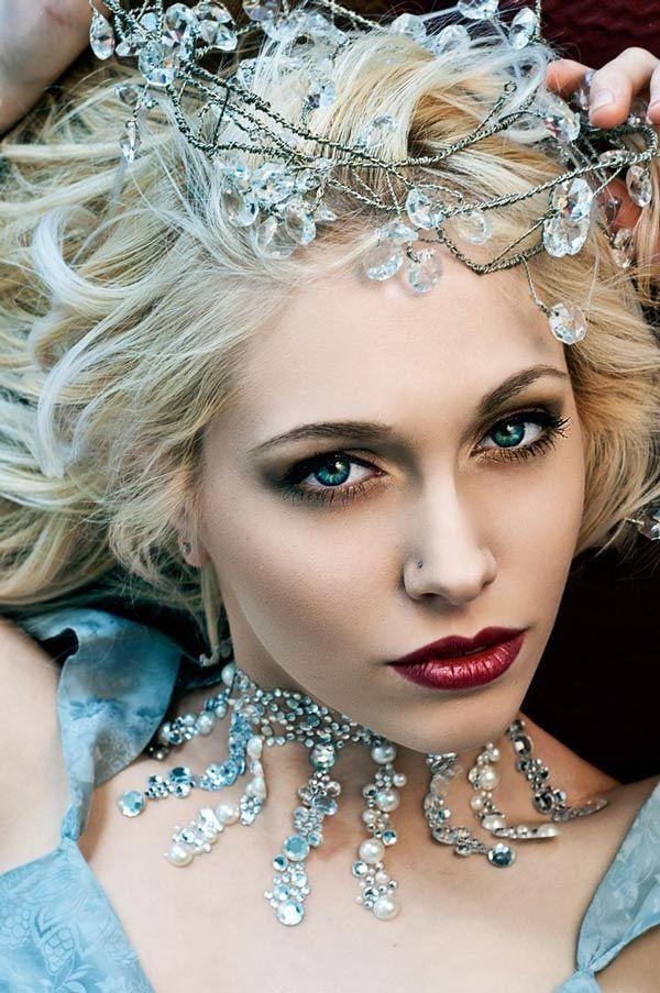 A pretty princess - Halloween Makeup Ideas 2013