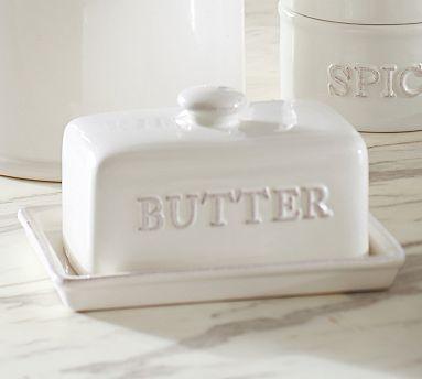 Rhodes Butter Dish #potterybarn