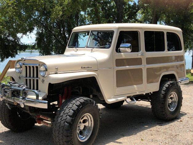 Icon Breathes New Life Into A Classic Willys Overland Willys Willys Wagon Vintage Trucks