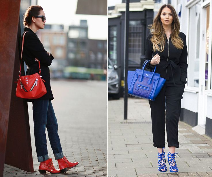 Matching color of shoes and handbag can do a lot of difference in your outfit, no matter what you wear.. Do you own any matching pieces which can take your outfit to another level? If so.. Did you go for a regular color or you rather chose some interesting shade? #handbag #handbags #outfit #fashion