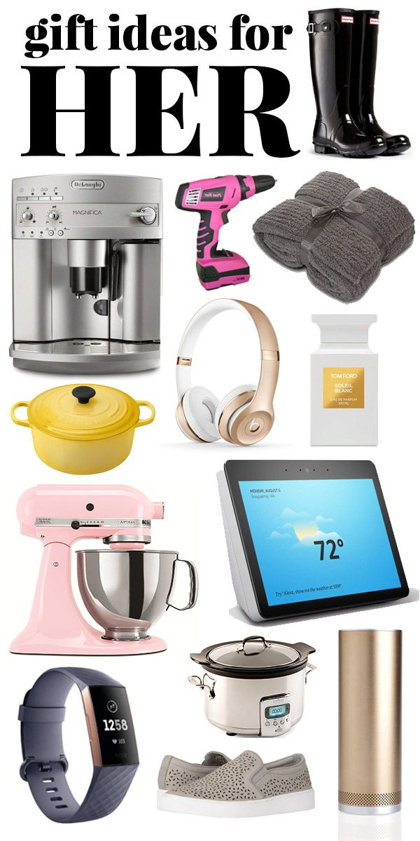 Take the stress out of gift giving with 90 unique and practical Christmas  Gift Ideas for HER - your BFF, mom, aunt, sister. Gifts for her to fit any  budget! - Christmas Gift Ideas For Her - For Any Budget! Gifts For Her