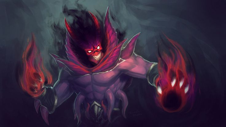 Shadow Demon: The Infernal Demiurge Wallpaper, more: http://dota2walls.com/shadow-demon/shadow-demon-the-infernal-demiurge-wallpaper