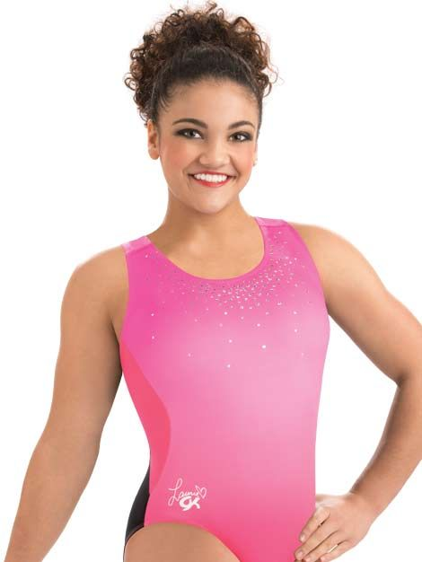 e273cee1bc23 Laurie Hernandez Popstar Workout Tank from GK Elite