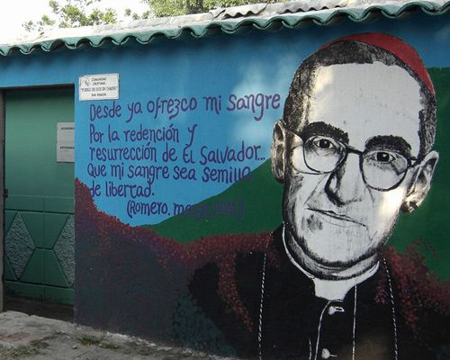 "Archbishop Oscar Romero (El Salvador) | Murdered by the CIA's inspired ""Death Squads"" on March 24, 1980"