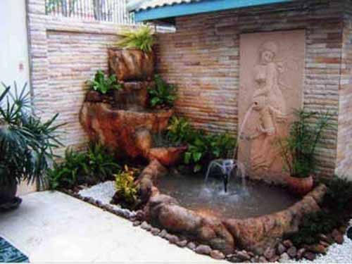 30 ideas para decorar tu jardin con fuentes 24 for Fuentes jardin baratas