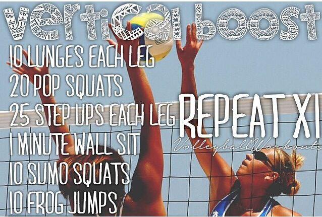 Vertical Workout- Volleyball                                                                                                                                                                                 More
