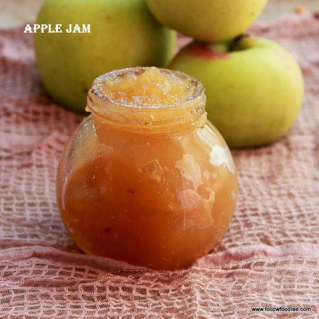 apple jam made with only 3 ingredients easy and simple - Apple Jelly Recipes