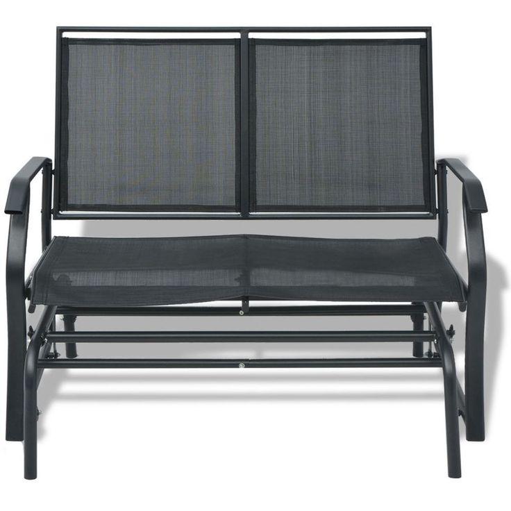 Garden Texteline Swing Bench Patio Outdoor Steel Furniture Deck Porch Seat Chair in Garden & Patio, Garden & Patio Furniture, Garden Benches | eBay!