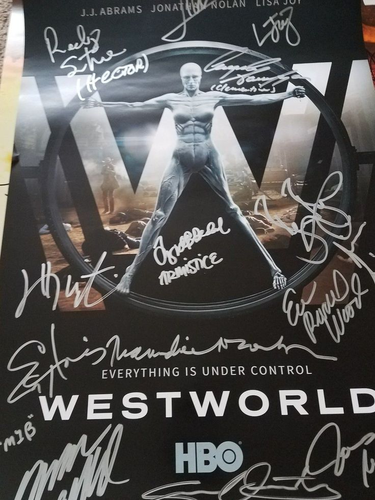 Westworld Cast Signed Poster SDCC San Diego Comic Con 2017 FOR SALE • $449.99 • See Photos! Money Back Guarantee. Up for bid is a Westworld Cast Signed Poster from the SDCC San Diego Comic Con 2017. You will also receive the cut wristband required for entry into the signing. 372032846645