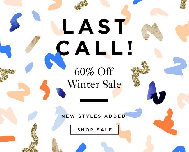 Last Call For Winter Sale / FInal Markdowns At The Official Loeffler Randall Online Store LoefflerRandall.com