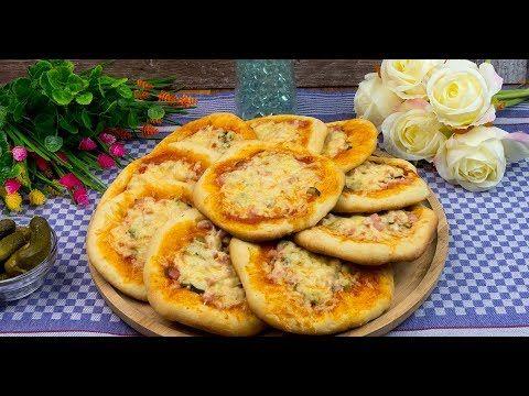 Mini pizza cu șuncă și castraveți murați - cel mai bun deliciu pentru mic și mare! - savuros.info