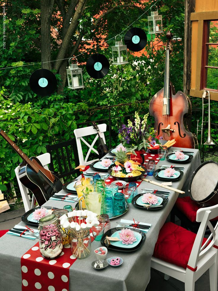 IKEA - All you need is love - and some well placed props for a music themed wedding celebration that doesn't miss a beat.