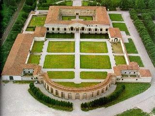 Palazzo del Te. Built in 1535 in Mantua, Italy.