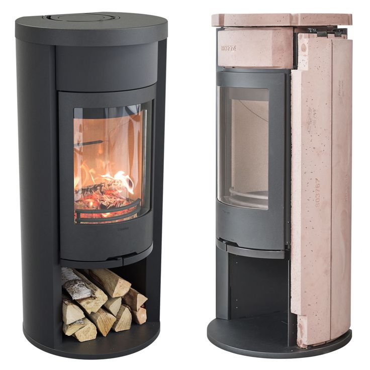 Contura 620 Style is equipped with heat retaining powerstone as standard. Available in black with cast iron door.#heatretainingstoves #powerstone #heatyourhome #logburningfireplace #efficientstove #contura600 #conturastyle