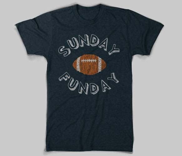 Sunday Funday Tee for my hubby...