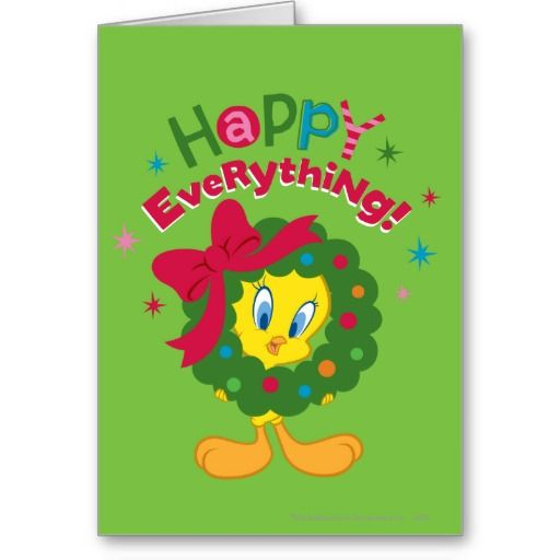 Happy Everything Looney Tunes Holiday Greeting Cards