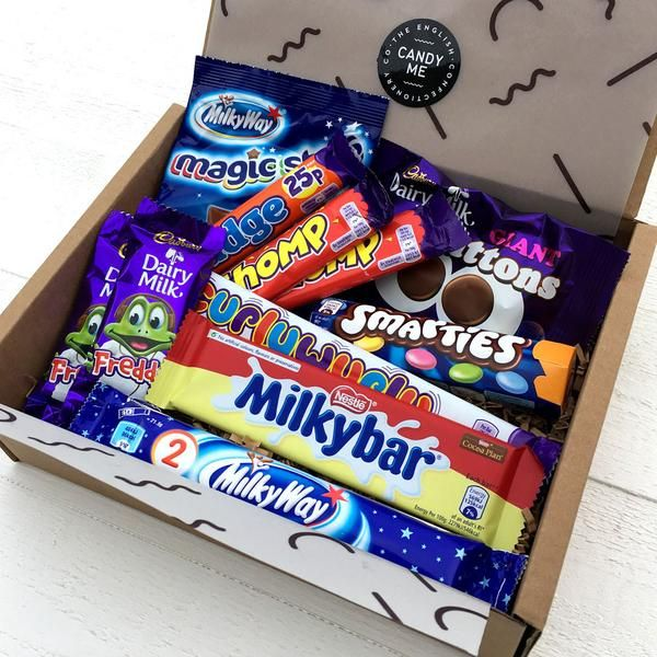 British Kids Classics Chocolate Bar Selection Box