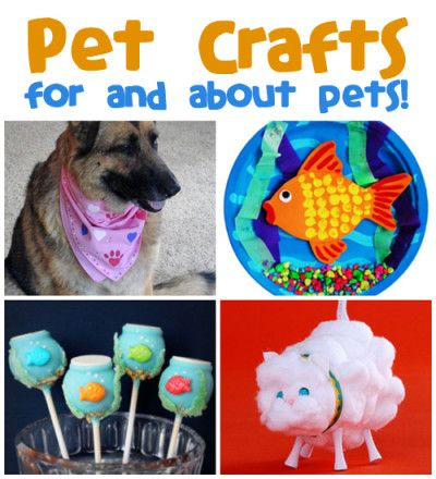 April 18th is Pet Owner's Day! Have some fun with it and create a craft project for one of your pets or one that looks like them. We have cats, dogs, goldfish and more. So be sure to stop by and see the pet crafts and recipes we have for you.