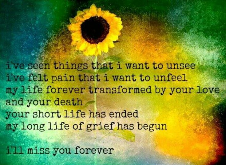 So very true. I wish my mind didn't constantly relive all his days of suffering. He didn't deserve that. Until we meet again my dear husband, gone way too soon