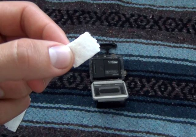How to Make DIY Anti-Fog Inserts for Your GoPro with Paper Towel