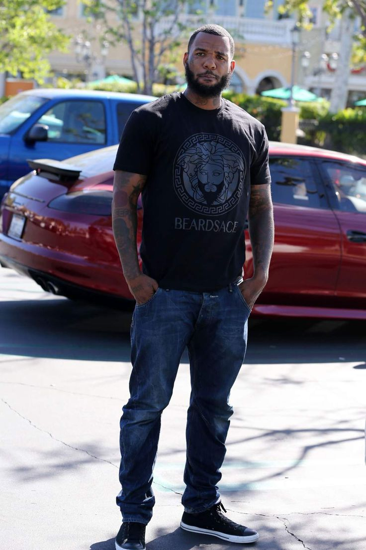 This ain't even gangsta. The Game on his grown man in this ...