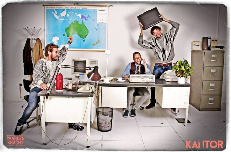 Crazy Office PhotoBooth by PaardenKracht